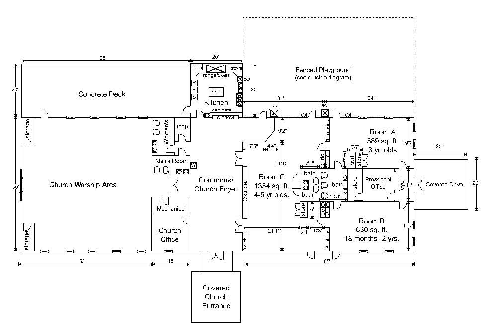 Floor Plan Of Kindergarten Crowdbuild For