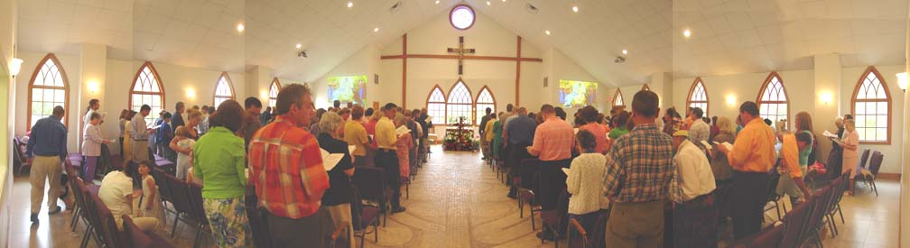 Easter Sunday panorama
